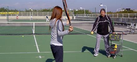 テニスを習おう@初心者